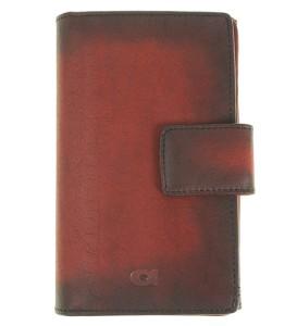 86bf31448dd82 P10 Rozbudowany damski   męski portfel skórzany Firmy Daag Alive czerwony