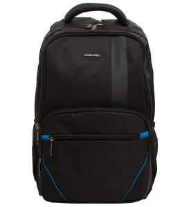 8436dcde2c857 PL161 Plecak szkolny na laptopa czarno niebieski