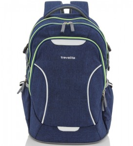 fa6dc36d7e4c5 PL171 plecak Travelite Basics szkolny turystyczny granatowy