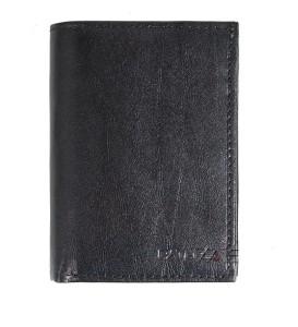 35fe15b243f46 P57 Męski portfel skórzany Czarny