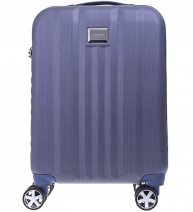 d5c2f04e1a6b1 W98 Mała twarda WALIZKA poliwęglan yearz zamek TSA niebieska