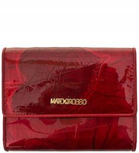 0606cfe829daf P313 Damski portfel marki Mato Grosso skóra nat. czerwony