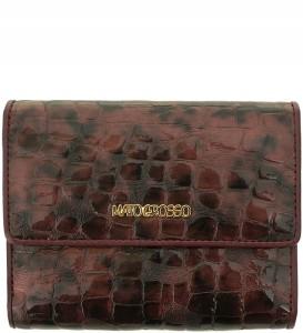 de33e53dba8fa P313 Damski portfel marki Mato Grosso skóra nat. bordowy
