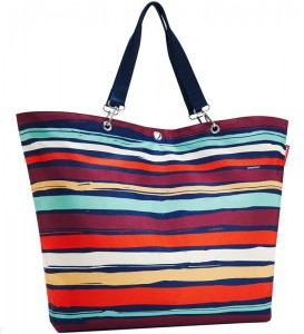R26 Torba zakupowa Reisenthel Shopper XL, Artist Stripes wzór 4