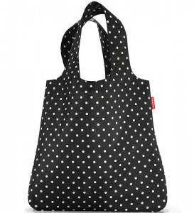 R01 Siatka mini maxi shopper Reisenthel mixed dots wzór 15