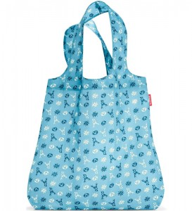 R01 Siatka mini maxi shopper Reisenthel bavaria denim wzór 39