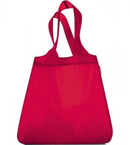 R01 Siatka mini maxi shopper Reisenthel red wzór 16