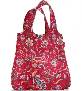 R01 Siatka mini maxi shopper Reisenthel paisley ruby wzór 41