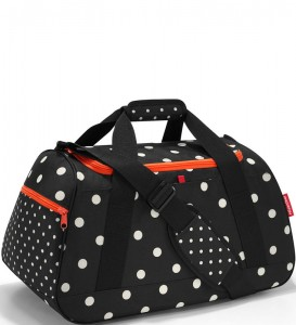 R06 Torba sportowa activitybag Reisenthel mixed dots wzór 15