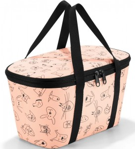 R15 Torba termoizolacyjna coolerbag XS Reisenthel kids cats and dogs wzór 28