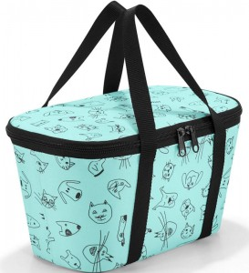 R15 Torba termoizolacyjna coolerbag XS Reisenthel kids cats and dogs wzór 29