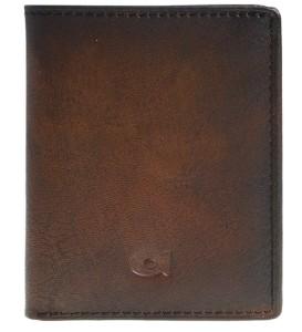 7d2f6d16e221c P15 Skórzany męski portfel- etui na karty firmy Daag Alive - Brąz