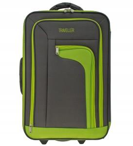 5c201bc93347d W79 Duża miękka walizka Sumatra TRAVELLER B. Lekka wzór 01