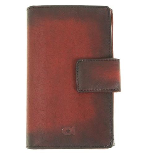 e1e70dfb1a0a6 P10 Rozbudowany damski   męski portfel skórzany Firmy Daag Alive czerwony