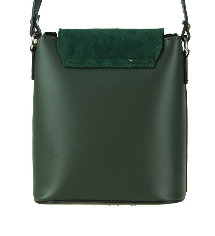 92ba25880a89b C185 Mała torebka klasyczna skórzana zielona Sklep Internetowy VASCO
