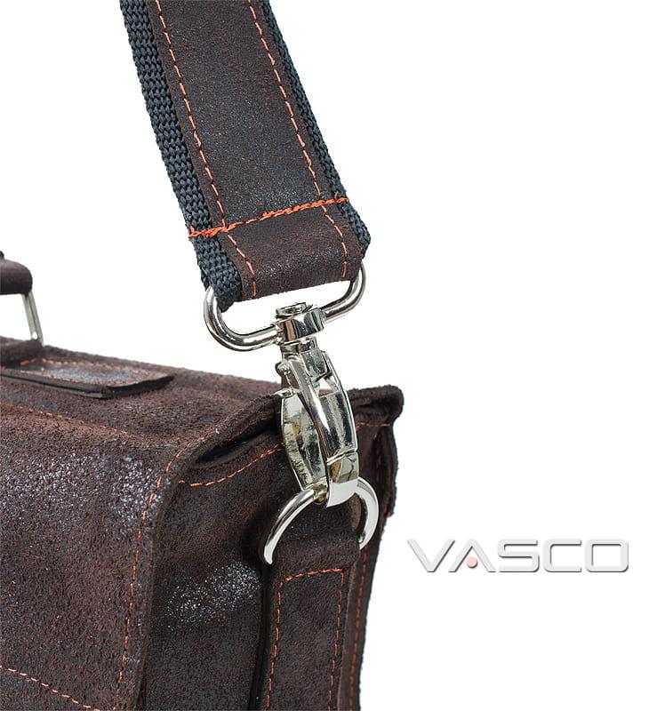 0011b27a3976e TM08 Torba na ramie skórzana ciemno brązowa Sklep Internetowy VASCO